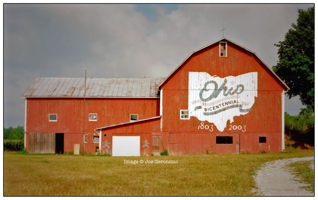 Location: Crawford County 3536 State Route 598, Crestline; SR 598 about 1.5 miles north of U.S. 30 Latitude: N40 50.04 Longitude: W82 47.32 This was the 18th barn to be painted.