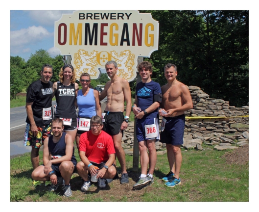 Smoking hot group of Runners from L-R:  Joe Geronimo, Sue Cain, Lori Haskell, Silverfox Cavalari,  Koen Gieskes, Chris Polotti, Charles Wellman and Chris Haskell. Image © Robert Eklund