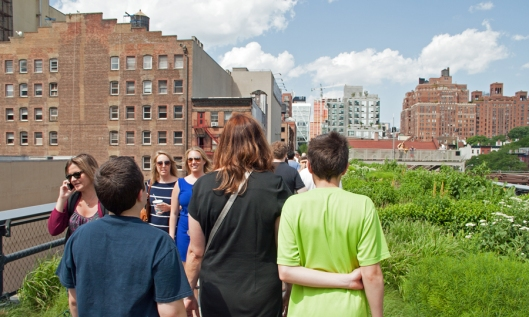 Walking the High Line. Image © Joe Geronimo