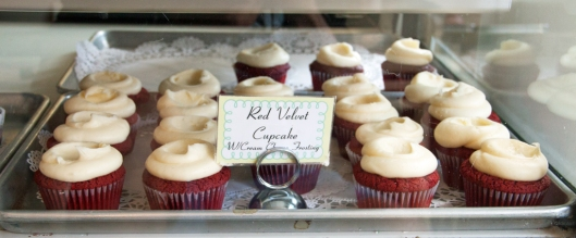 Billy's Bakery Red Velvet Cupcakes. Image © Joe Geronimo