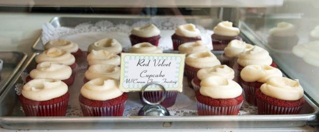 Billy's Bakery Red Velvet Cupcakes. Image © Joe Geronimo