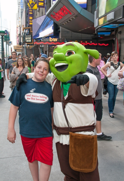 Max and Shrek. Image © Joe Geronimo