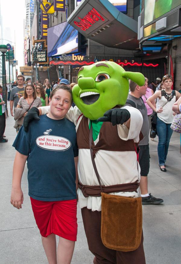 Max and Shrek. Image © Joe Geronimo