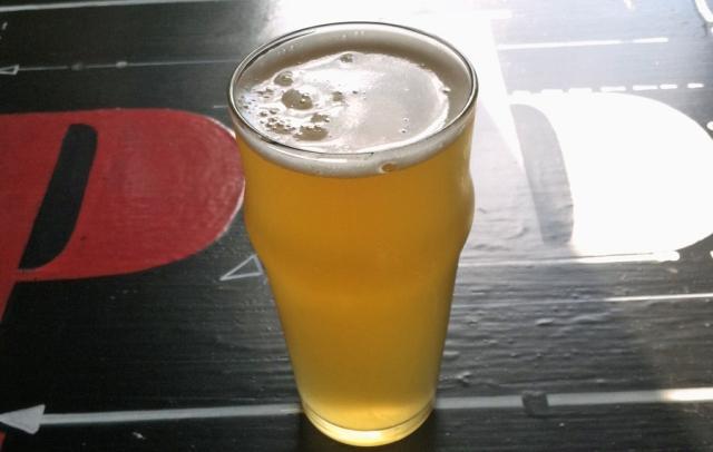 """Peekskill Brewery """"Skills Pils"""". Image © Joe Geronimo"""