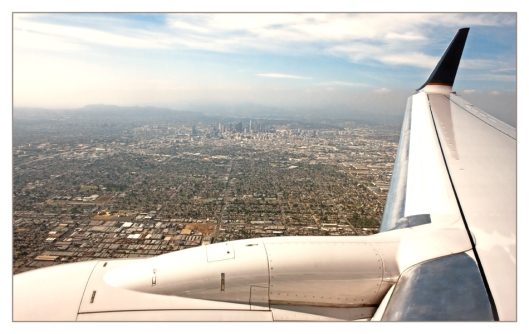 On the approach to LAX. June 24th 2013. Image © Joe Geronimo
