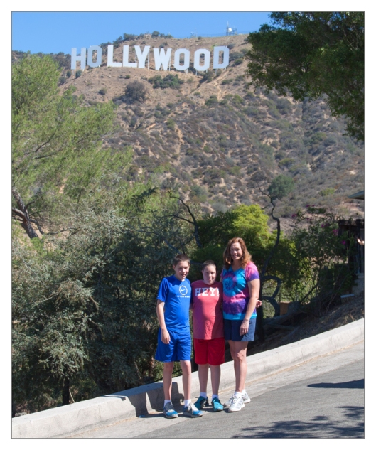 Michael, Max & Julie Hollywood, California June 27th 2013. Image © Joe Geronimo