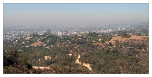 View of LA Basin from Griffith Observatory June 27th 2013. Image © Joe Geronimo
