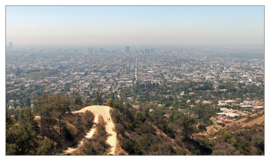 View of the LA Basin from Griffith Observatory June 27th 2013. Image © Joe Geronimo