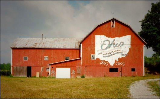Ohio Bicentennial Barn, Crawford County, Ohio. Kodak Portra 400 © Joe Geronimo