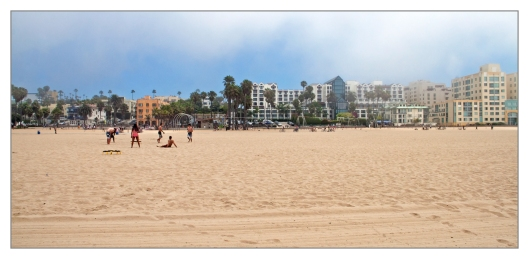 Santa Monica beach June 28th 2013. Image © Joe Geronimo