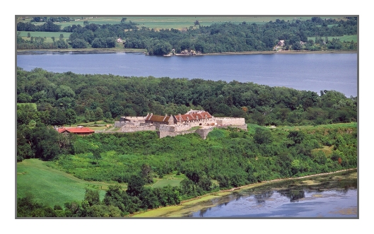 Fort Ticonderoga seen from Mt. Defiance Image © Joe Geronimo