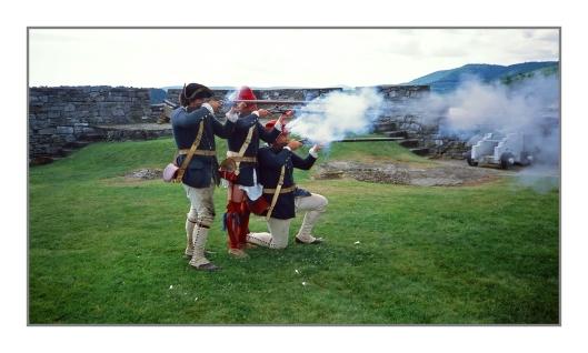 Musket Fire Drill Image © Joe Geronimo