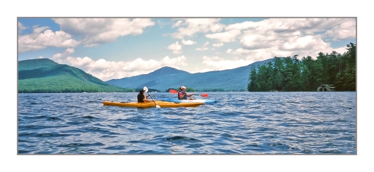 Julie & Max on Lake George. Image © Joe Geronimo