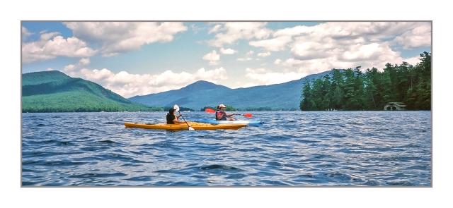 Julie & Max on Lake George. Image © Joe Geronimo