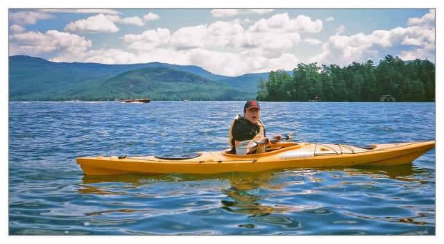 Max on Lake George Image © Joe Geronimo