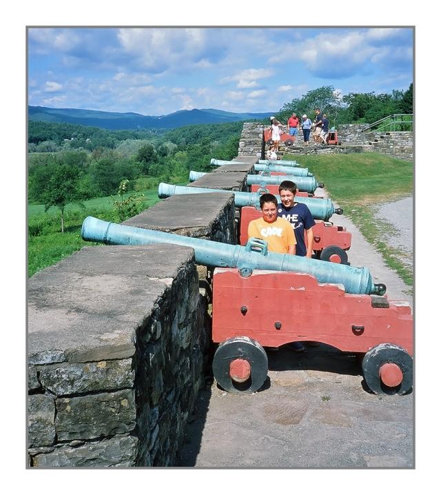 Max & Michael at Fort Ticonderoga Image © Joe Geronimo