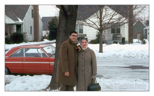 Its after Christmas 1969 and my uncle Ralph is with my grandmother  before heading to the airport and returning to the warmth of Miami.