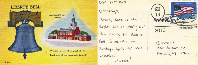 Philly Postcard F&B