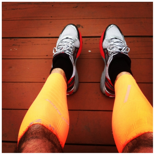 My Zensah compression sleeves after this mornings run.