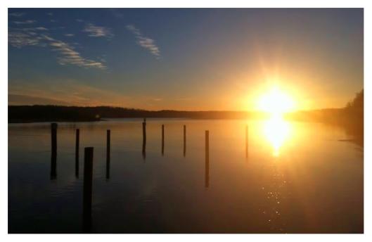 Sunrise at the Bluff