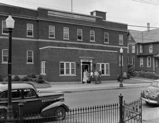 Chas. S. Wilson Memorial Hospital Annex on Clinton Street, Binghamton, NY