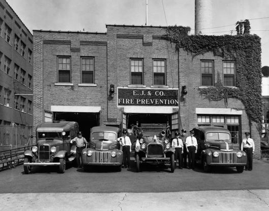 Fire Prevention Station No.1 on Avenue B in Johnson City,NY