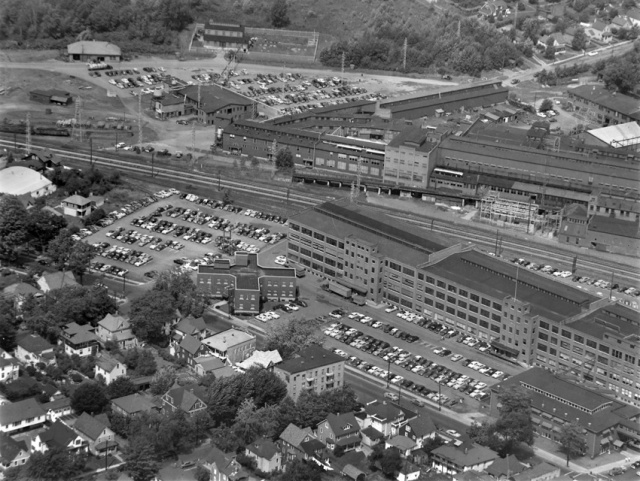 Endicott Johnson Complex on North Street, Endicott, NY