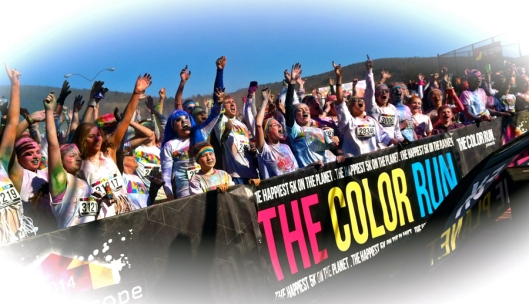 2014 Binghamton New York Color Run.