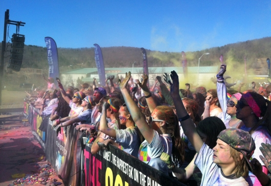 2014 Binghamton New York Color Run