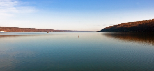 Seneca Lake looking north from its southern most point in Watkins Glen, NY. Image © Joe Geronimo 2014