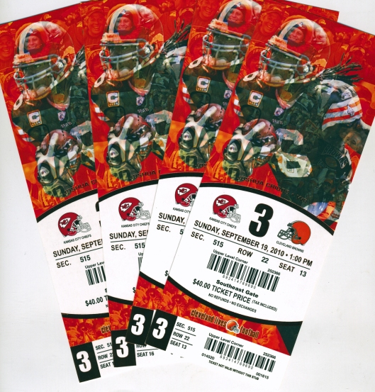 Browns Tix