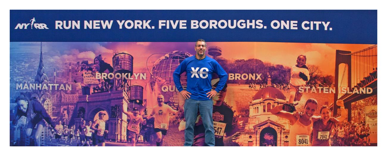 New York City Marathon Expo at the Jacob Javitz Center in Manhattan October 31st 2014.