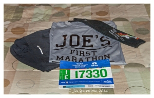 TCS New york City Marathon 2014.