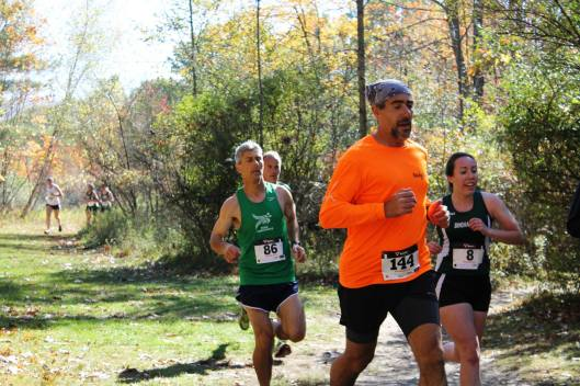 Joe Geronimo during the Southern Tier Cross Country series at Binghamton, NY University. Image © Sheila Cordi