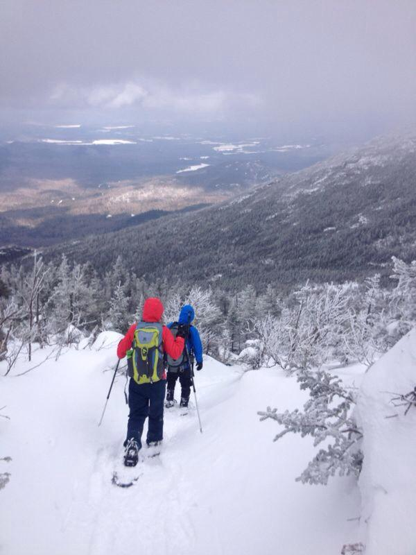 Winter hiking on Algonquin. Image from Google.