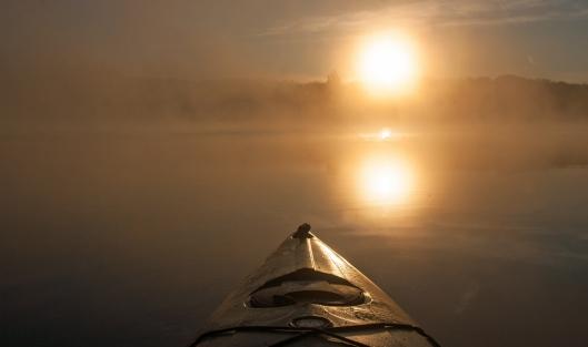 Sunrise Long Pond, Smithville Flats, NY. Image © Joe Geronimo