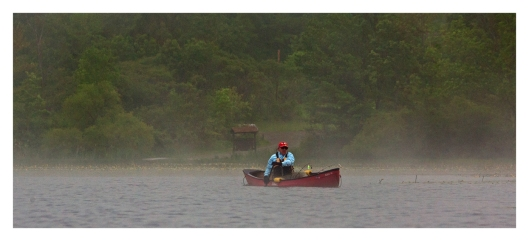 A Lone Fisherman (Don) on Long Pond © Joe Geronimo