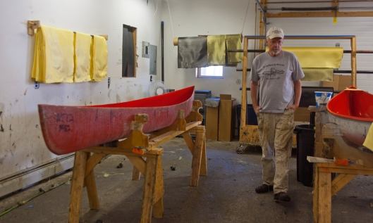 Owner Pete Hornbeck gives me a tour of the shop complex.  Image © Joe Geronimo