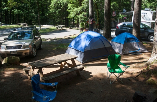 King Phillips campground Lake George, NY. Image @ Joe Geronimo