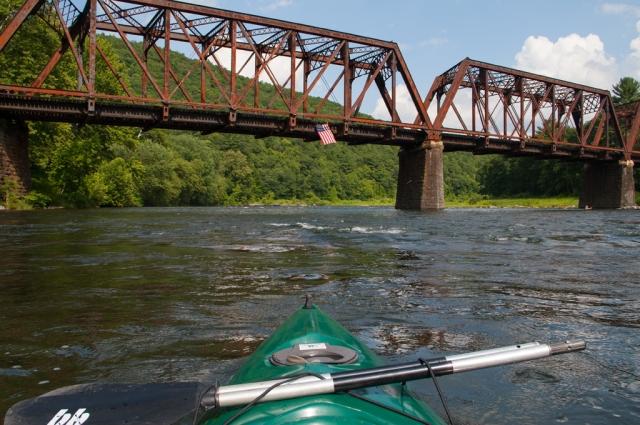The railroad stretches from New York into Pennsylvania here at Tusten, NY July 18th 2015. Image © Joe Geronimo