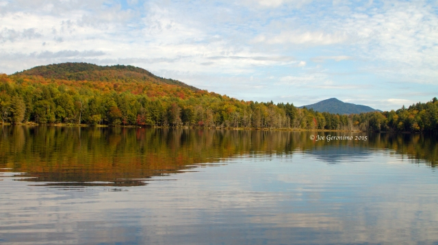 Essex Chain 5th Lake with (Polaris Mountain) in the Distance September 25th 2015. © Joe Geronimo