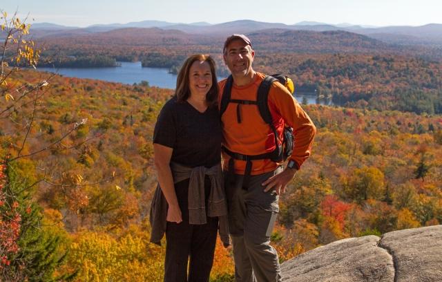 Julie & I on Bald Mountain.