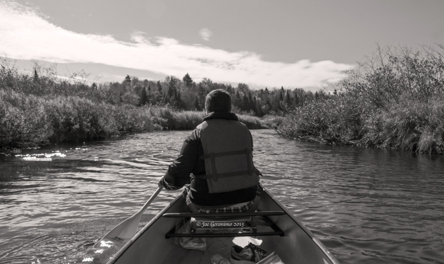 Max in his element along the Moose River. © Joe Geronimo 2015