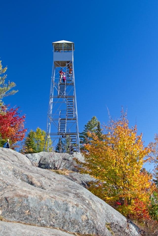Ronda fire tower Bald Mountain. © Joe Geronimo