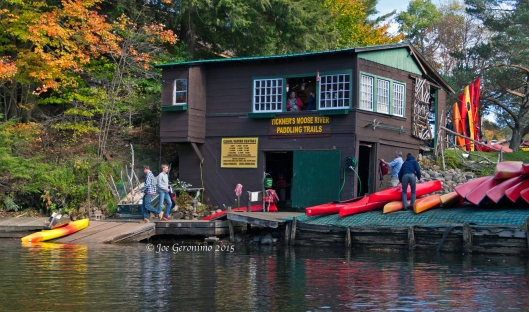 Tickner's Canoe Boat House © Joe Geronimo 2015