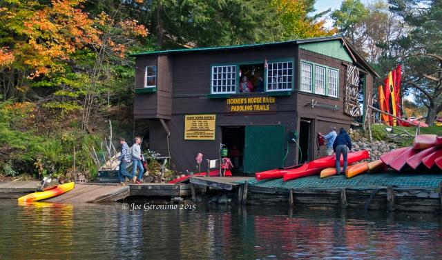 Tickner's Canoe Boat House © Joe Geronimo 2015