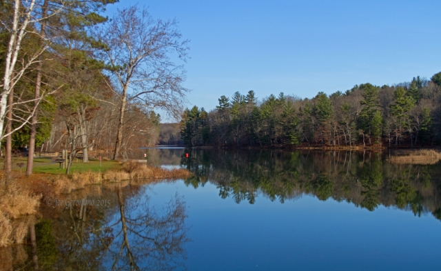 Chenango Lake @ Chenango Valley State Park November 15th 2015.