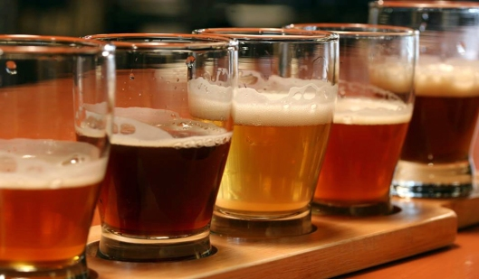 Take a test flight at Water Street Brewing Company.