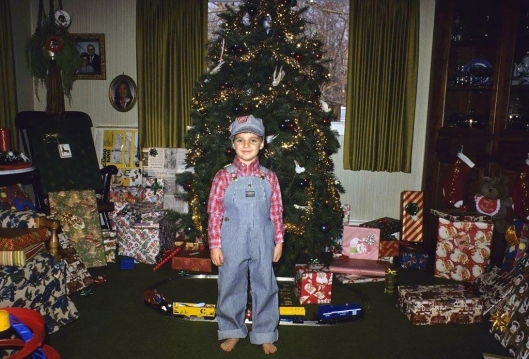 Brock Kerchner Christmas Day 1985. Kodachrome 64.
