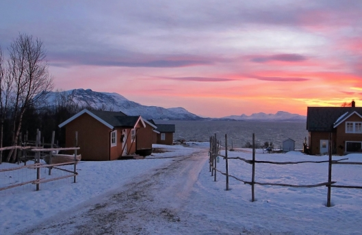 Yggdrasiltunet Bed & Breakfast on the island of Kvaløya in Northern Norway.